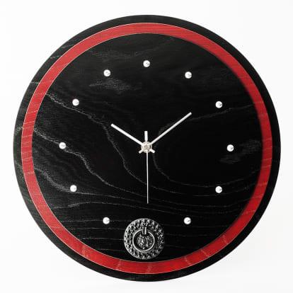 岩谷堂くらしな/丸時計(赤黒)