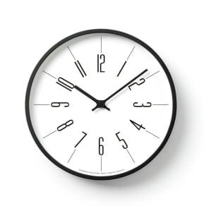 Lemnos(レムノス)時計台の時計 ウォールクロック壁掛け電波時計