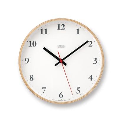 Lemnos(レムノス)Plywood clock ウォー…