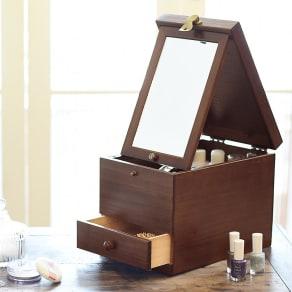 木製コスメティックボックス