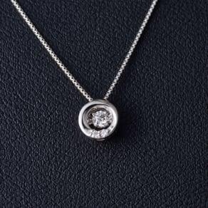 グレーシャスダイヤ プラチネックレス サークル