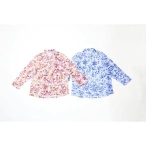 カインドケア/シャツ襟ブラウス 婦人