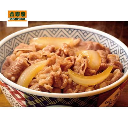 吉野家の牛丼 (10食)