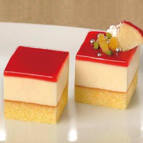 【おつとめ品】 フレック カット済みケーキ 弘前産りんご (49個)