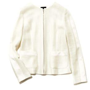 リッチェリ社 からみ織り ジップアップ ジャケット