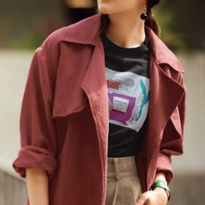 WORDROBE/ワードローブ プリント 半袖Tシャツ