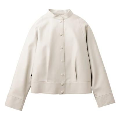イタリアンラムレザー ショートジャケット