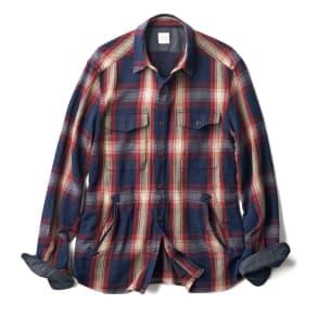 ヘビーネル シャツジャケット