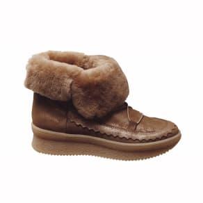 KANNA/カンナ ムートン使い スニーカーブーツ(スペイン製)