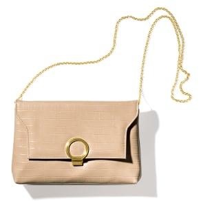 Cachellie/カシェリエ クロコ型押し チェーンバッグ