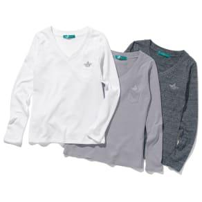 リサイクルコットン きらきらストーン付き 長そでTシャツ