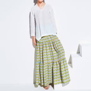 ANONYME/アノニム ティアードスカート