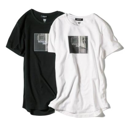 WORDROBE/ワードローブ プリントTシャツ フォト柄…