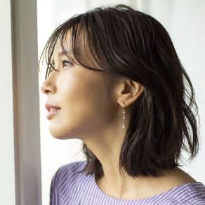 YUKIKO OKURA/ユキコ・オオクラ 淡水ケシパール イヤリング・ピアス