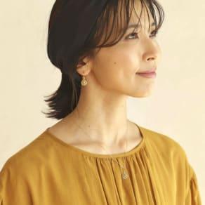 YUKIKO OKURA/ユキコ・オオクラ K18 ブラウンダイヤ ドロップ ペンダント