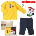 miki HOUSE(ミキハウス)/Tシャツ3点セット