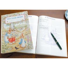 ピーターラビット/10年日記(名入れなし)