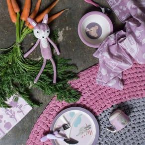 sebra(セバ)/丸いフォルムで持ちやすい フォーク スプーン ナイフのカトラリーセット 子供食器