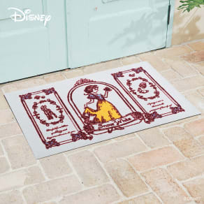 白雪姫/玄関マット 60×90cm|Disney(ディズニー)