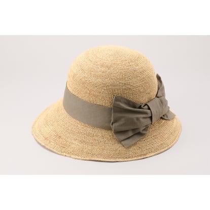 田中帽子店/ラフィア女優帽 ナディア UK-H090