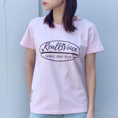 RealBvoice(リアルビーボイス)/ジャパンハート サーフボード レディスTシャツ