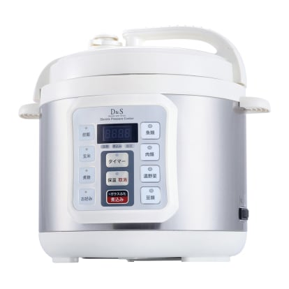 コンパクト電気圧力鍋 4.0L ガ…