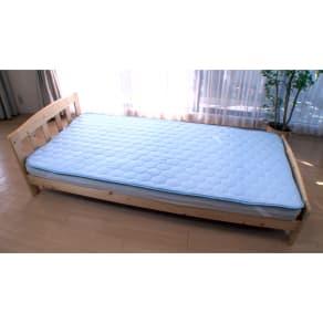 ひんやり除湿寝具 デオアイス 敷きパッドNEO(シングル)