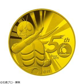 仮面ライダー生誕50周年記念コイン 1/2oz 金貨