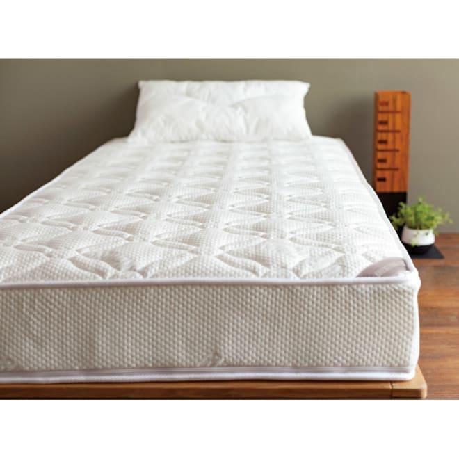 【ディノス限定】東洋紡ブレスエアー(R)リュクス マットレス ※枕は商品に含まれません。