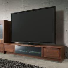 天然木調配線すっきり テレビ台シリーズ テレビ台・幅200cm