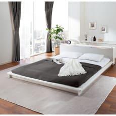 【シングル・フレームのみ】照明付きステージすのこベッド