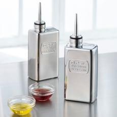 イタリア製オリーブオイル&ビネガーボトル2本セット