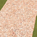 雑草が生えない天然石マット お得な同色48枚組