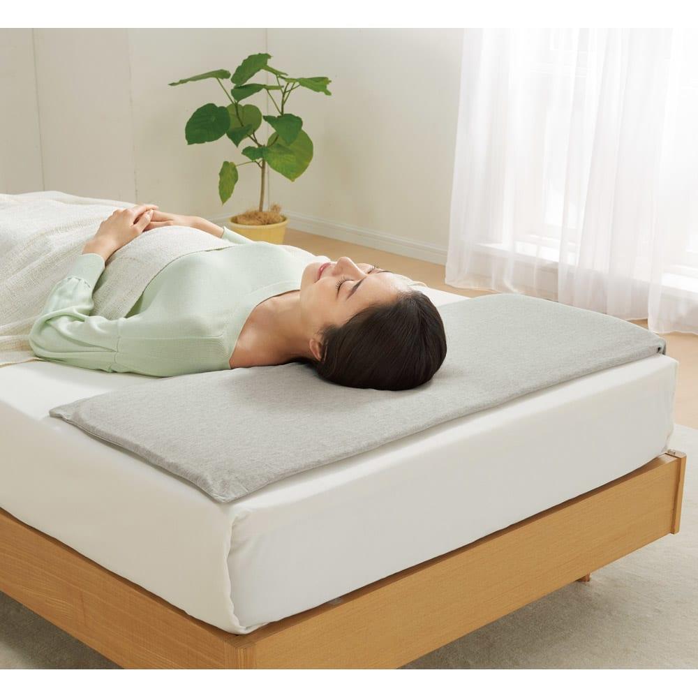 低いにもほどがある超薄型V-Lap(R)枕(カバー付き)