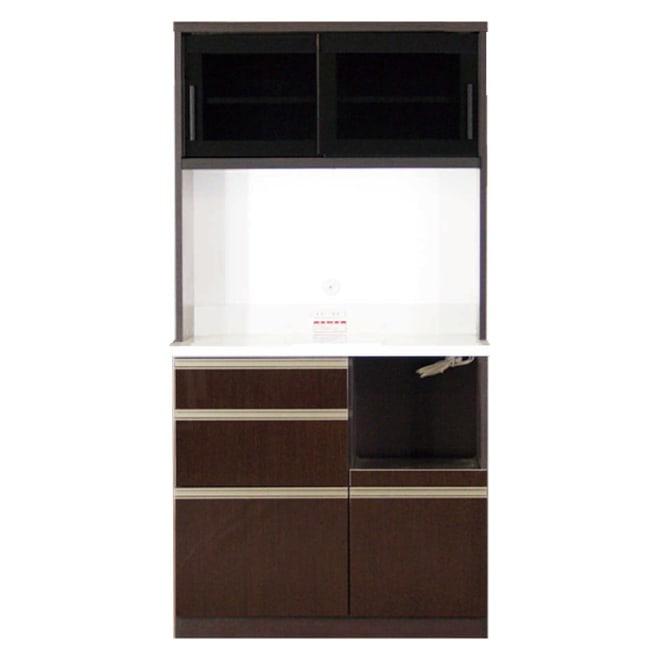 高機能 モダンシックキッチン キッチンボード 幅90奥行51高さ178cm お届けの商品はこちらになります。