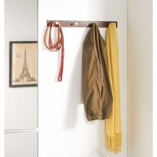 壁に付けるお洒落ハンガーフック 4連フック 幅60cm