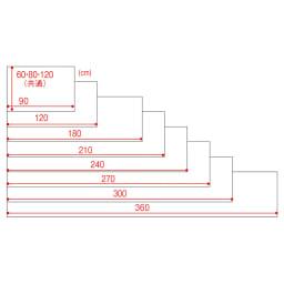 アキレス透明キッチンフロアマット(奥行120cm)