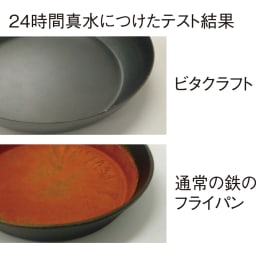 vitacraft/ビタクラフト スーパー鉄 フライパン 径20cm 錆びにくい! 鉄の内部まで層を作る窒化4層加工で弱点を解消。