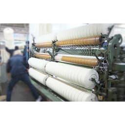 【毛布の老舗 三井毛織】エジプト超長綿やわらか綿毛布 掛け毛布 糸の太さや撚りの強弱など、熟練の技術で細かく設定しています。