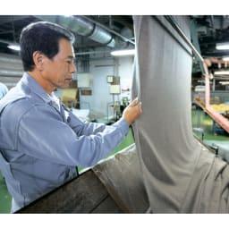【毛布の老舗 三井毛織】エジプト超長綿やわらか綿毛布 掛け毛布 起毛師と呼ばれる熟練の職人がひとつずつ丁寧に仕立て上げています。