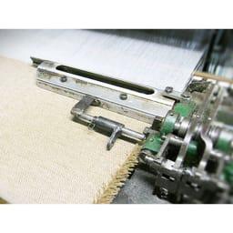 【三井毛織】エジプト超長綿やわらか綿毛布 敷き毛布 製織 糸作りから起毛まで、職人の技を結集