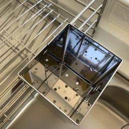 使いやすくなったスライド水切り 1段 箸立ては、水切りしやすく、