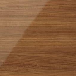 スクエア光沢木目カウンター下収納 3列6マス 幅118cm奥行29cm (イ)ブラウン 華やかな色味のブラウンは、お部屋を明るくあたたかな空間へと演出。