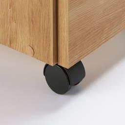 間仕切りキッチンカウンター スリムワゴン 幅29.5cm キャスター付きで移動も簡単。