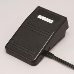 JANOME コンパクトミシン特別セット フットコントローラータイプだから両手で布を押さえることができ、細かい作業もラクラク。