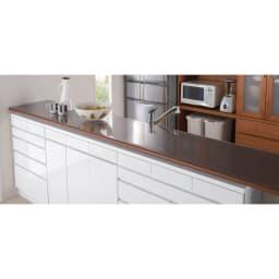アキレス 高機能テーブルマット 幅120cm(オーダーカット) キッチンカウンターやサイドボード等、長さのある天板に適した最長300cmのロングサイズが仲間入り。