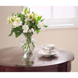 アキレス 高機能テーブルマット 幅120cm(オーダーカット) 円型テーブルのキズも防ぎます マットのオーダーなら、指定の形状にカットが可能です。