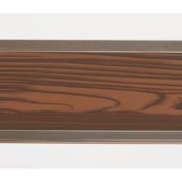 簡単リフォーム 木目調アルミボーダーフェンス お得な2枚組 ハイタイプ 幅90高さ149cm 本物の木板のようなプリントで、温かみのある仕様です。