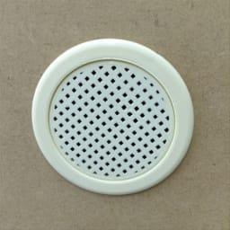 静かに閉まる薄型フラップシューズボックス シングル3段 幅90cm 背面には通気口がついており、臭いや湿気がこもりません。