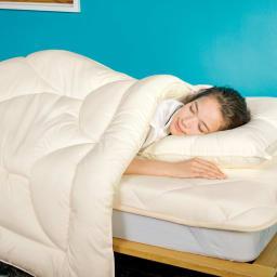 あったか洗える清潔寝具 掛け布団 シングルロング